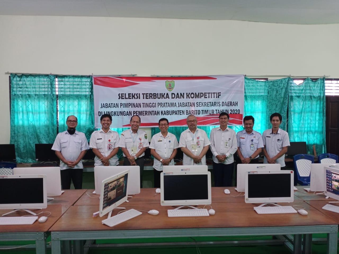 Tahapan Tes Kompetensi Assesment Seleksi Terbuka Jpt Pratama Jabatan Sekda Kabupaten Barito Timur Dilaksanakan Secara Daring Online